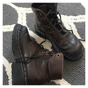 Dr. Martins Leather Boots